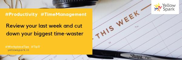 Yellow Spark Tip Time Management